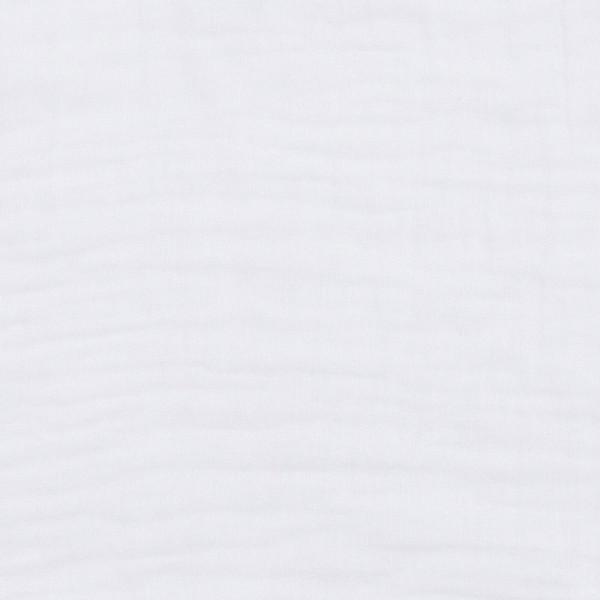 Grand lange en coton bio - Nana swaddle Blanc
