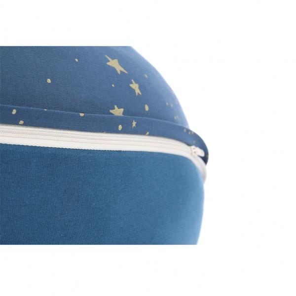 Coussin de maternité Luna - Gold Stella / Night blue