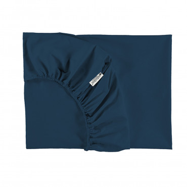 Drap housse Tibet 70 x 140 cm - Night blue