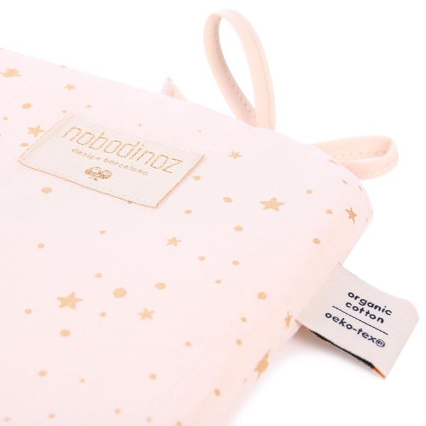 Tour de lit Nest - Gold stella / Dream pink