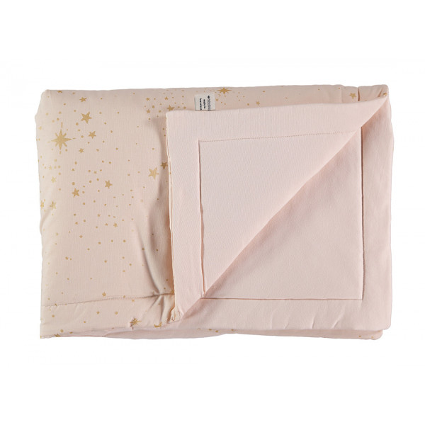 Couverture Laponia - Gold Stella/Dream pink