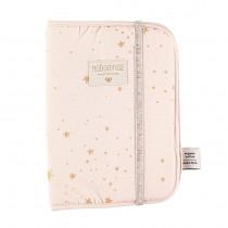 Protège carnet de santé Poema - Gold Stella / Dream pink