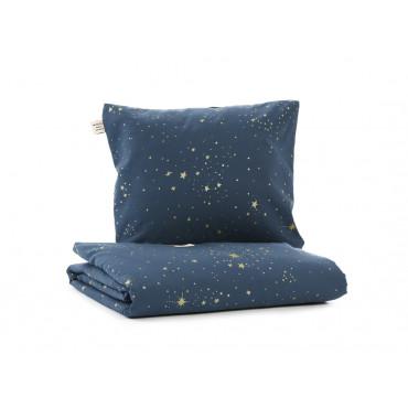 Parure de lit bébé Himalaya - Gold stella / Night blue