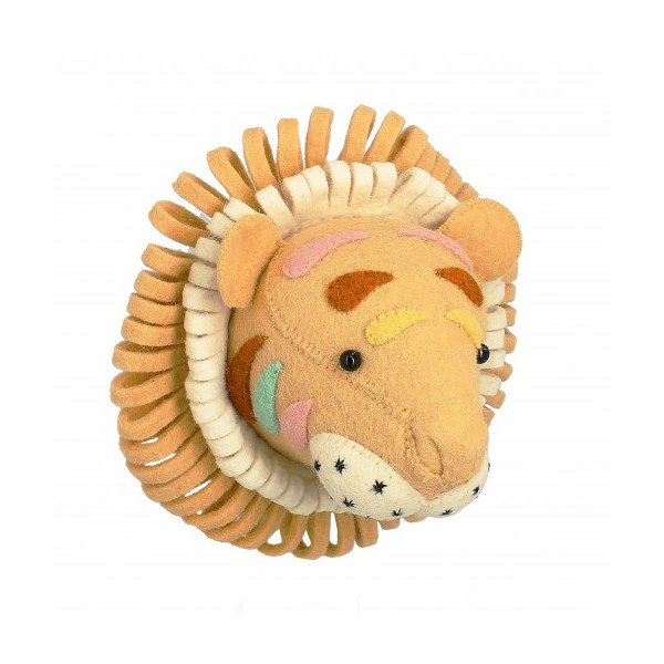 Trophée mini - Tigre pastel