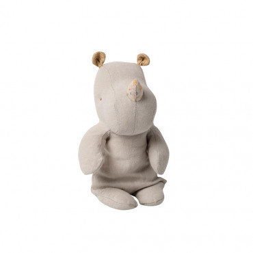 Peluche Safari Friends - Rhino, Gris clair