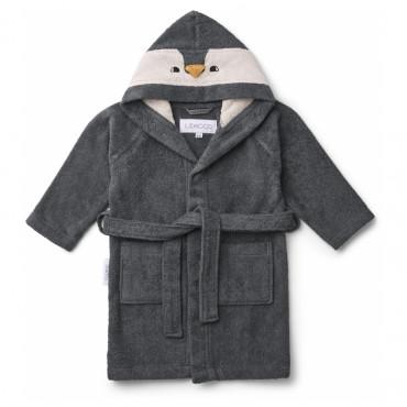 Peignoir enfant Lily - Pingouin Stone grey