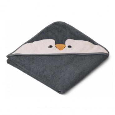 Cape de bain Augusta - Pingouin Stone grey