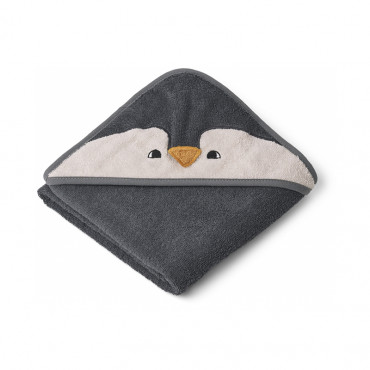 Cape de bain Albert - Pingouin Stone grey