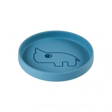 Assiette en silicone - Nozo blue