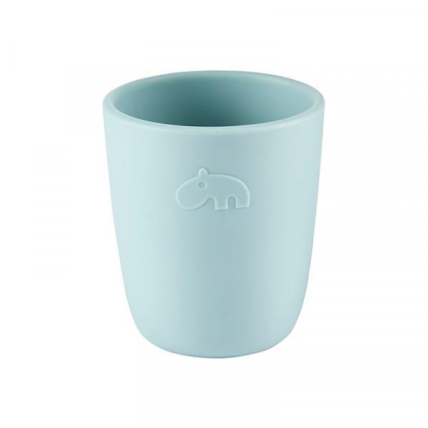 Petit verre en silicone Deer friends - Bleu