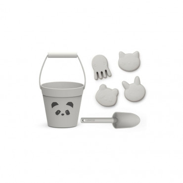 Set de plage Dante - Panda dumbo grey