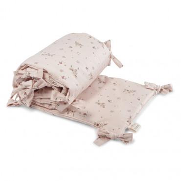 Tour de lit en coton bio - Nostalgie blush