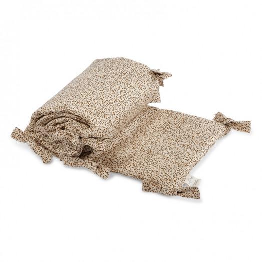 Tour de lit en coton bio - Blossom mist birk