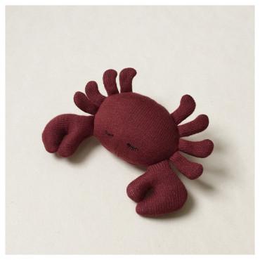 Hochet mini peluche - Crabe