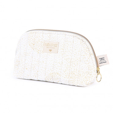 Trousse de toilette Holiday - Gold bubble /White