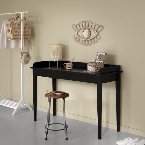 Bureau Console table Seaside, Noir