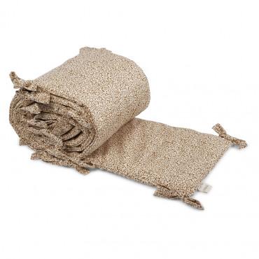 Tour de lit complet en coton bio - Blossom mist birk