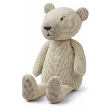 Doudou tricot ours polaire - Paddy