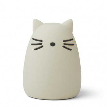 Lampe veilleuse rechargeable Winston - Chat sable