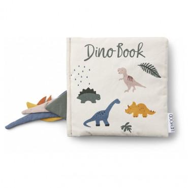 Livre d'éveil à toucher Dennis - Dino mix