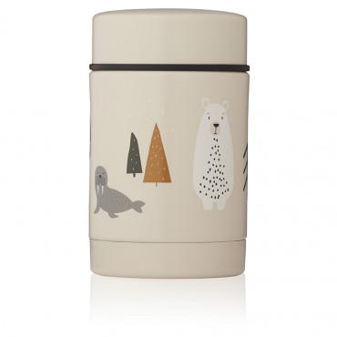 Boîte repas isotherme Nadja - Artic mix