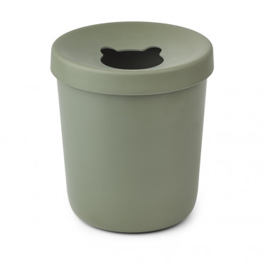 Poubelle Evelina - Faune green