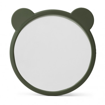 Miroir en silicone Heidi - Hunter green