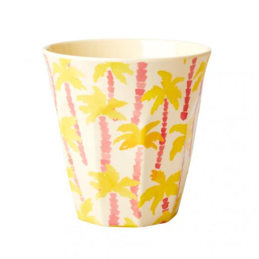Verre imprimé mélamine - Palm tree print