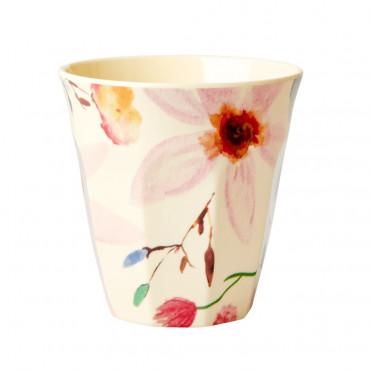 Verre imprimé mélamine - Selmas flower print