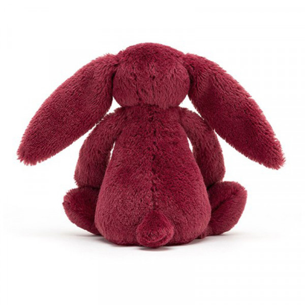 Peluche lapin Bashful - Sparkling cassis
