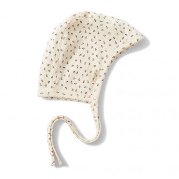 Bonnet bébé en coton bio - Tiny clover