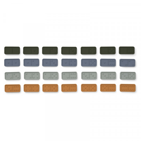 Set de domino Dodo - Blue multi mix
