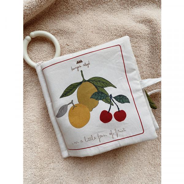 Livre d'éveil à toucher - Fruit