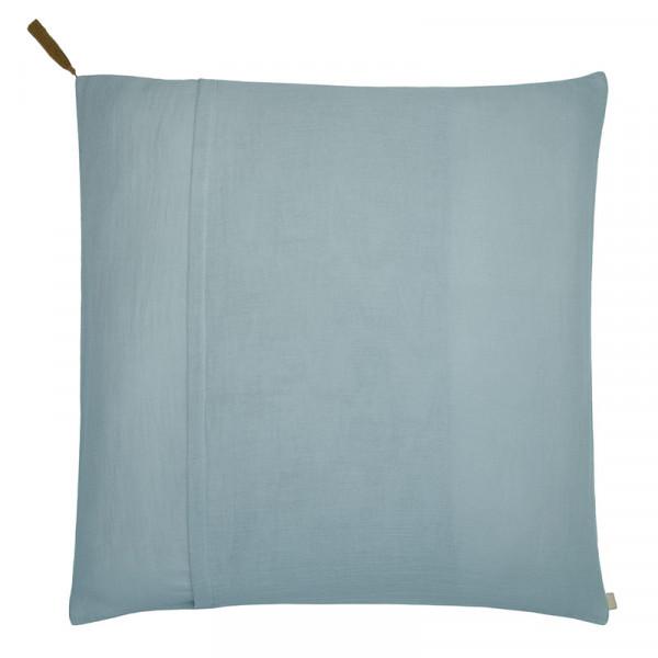 Taie d'oreiller en coton bio - Bleu ciel