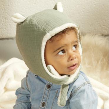 Bonnet polaire - Kaki