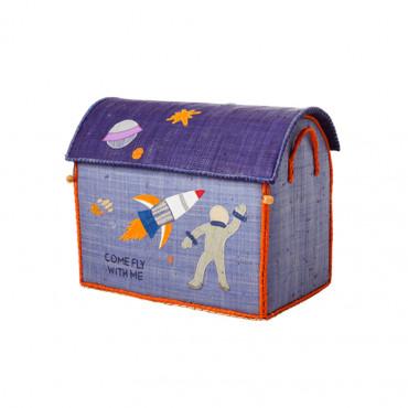 Coffre à jouets en raphia MM - Space