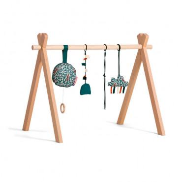 Arche d'éveil en bois avec coussin musical - MIKA