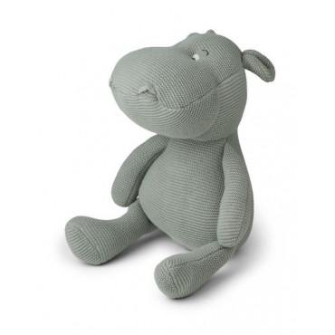 Peluche en tricot hippo - Bo