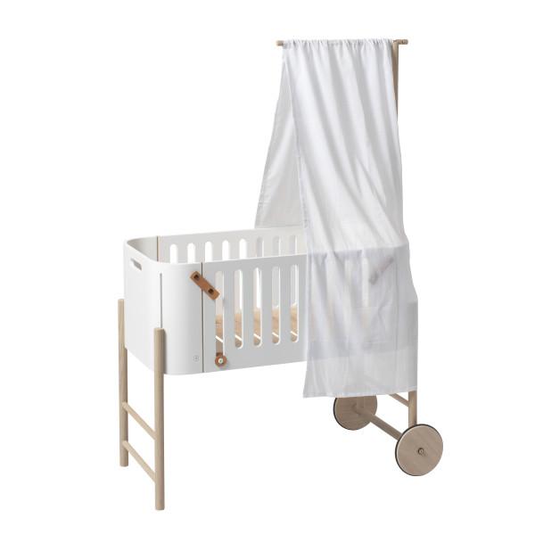 Flèche de lit pour lit cododo évolutif Wood - Chêne