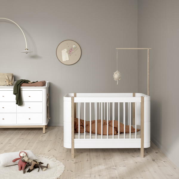 Flèche de lit pour lit Mini+ Wood - Chêne