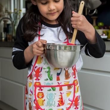 Tablier de cuisine pour enfant - Colorful creatures
