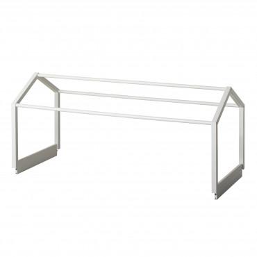Structure de toit pour lit Seaside Lille + en Blanc