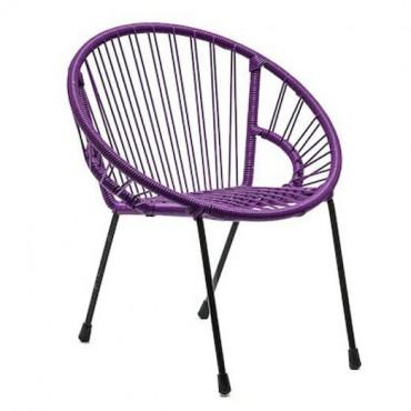 Chaise enfant Tica - Violet