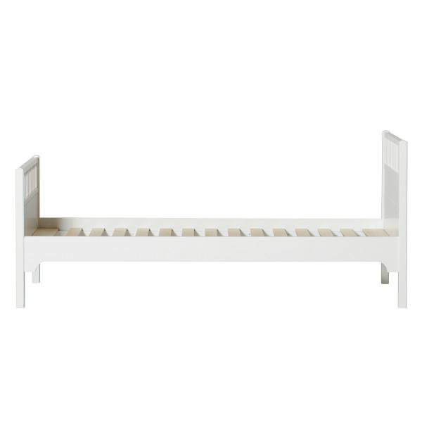 Lit classique Seaside 90 x 200 - Blanc