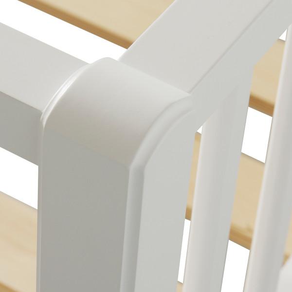 Lit banquette classique Seaside 90 x 200 - Blanc