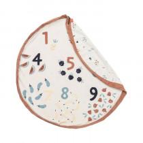 Tapis de jeu et sac de rangement - Veggie numbers