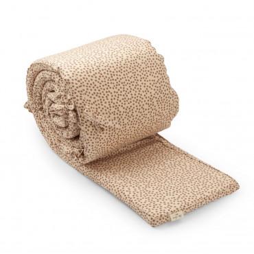 Tour de lit complet en coton bio - Buttercup rosa