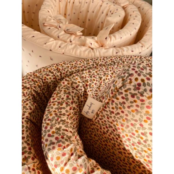 Tour de lit complet 360 en coton bio_Konges Slojd
