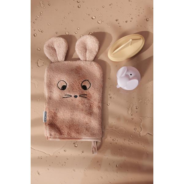 Lot de 3 gants de toilette Sylvester - Mouse lavender multi mix