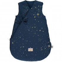 Gigoteuse d'hiver Cloud - Gold stella/Night blue